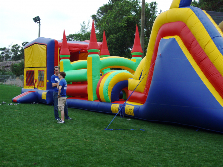 4 IN 1 COMBO-Bounce/Obstacle/Climb/Slide